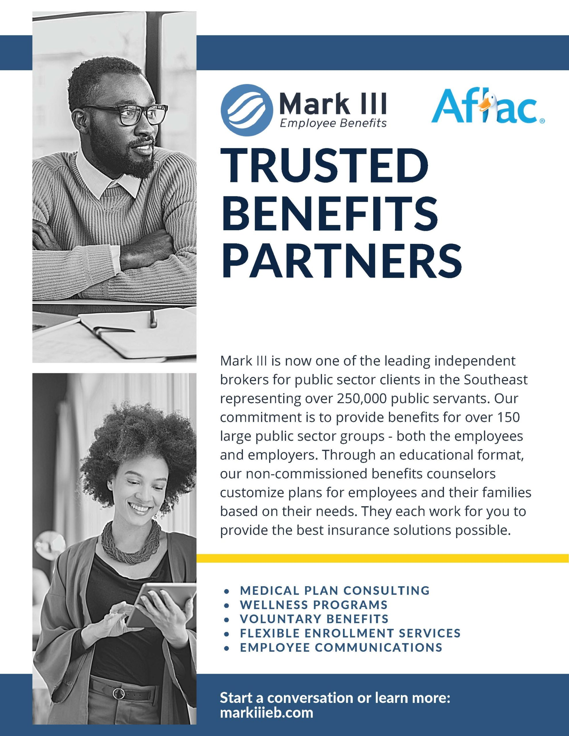 Ad: Mark III and Aflac